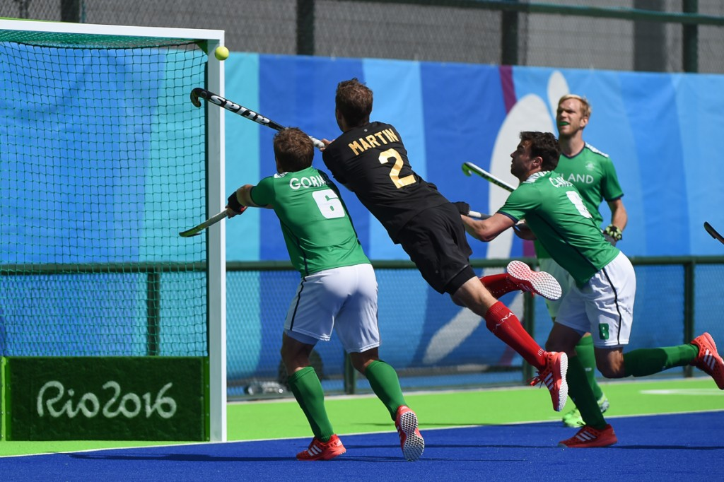 2016 Olympic Games. Men's National Team. Canada vs Ireland. 4-2 loss. August 11, 2016. Photo:Yan Huckendubler.