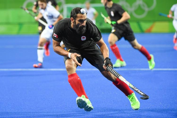 2016 Olympic Games. Canada vs Germany. Jagdish Gill (Photo by Yan Huckendubler)