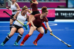 Canada takes on England in a pre-tournament game