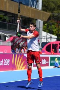 John Smythe competes at the 2018 Commonwealth Games. Photo/Yan Huckendubler