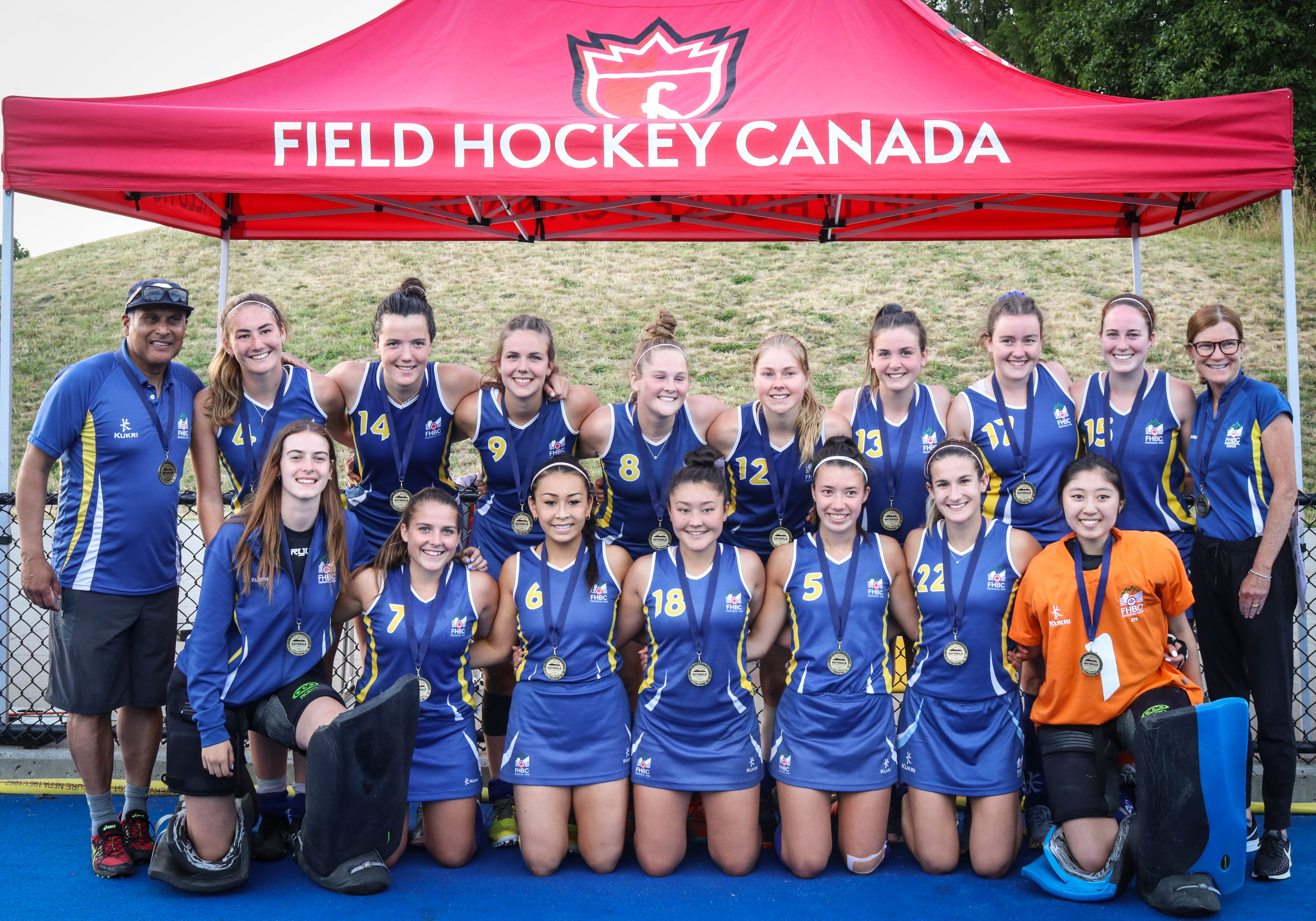 Field Hockey Canada Nationals 2019 Bc Rams Take Down Ontario To
