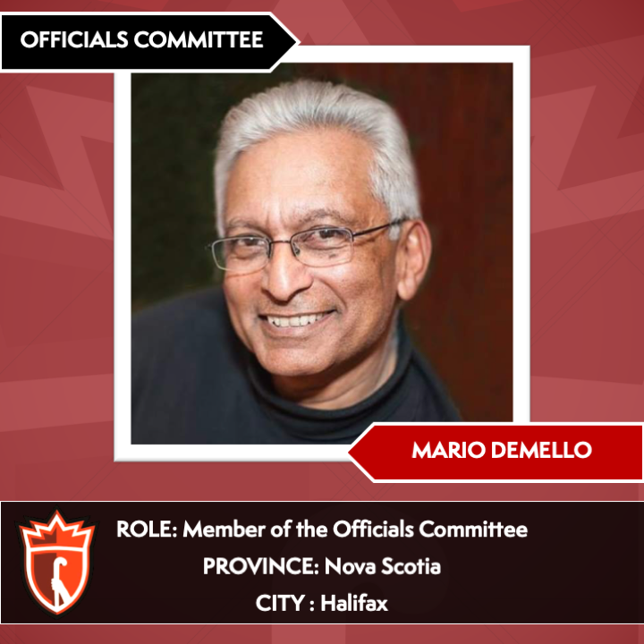 Officials' Committee Members_Mario Demello