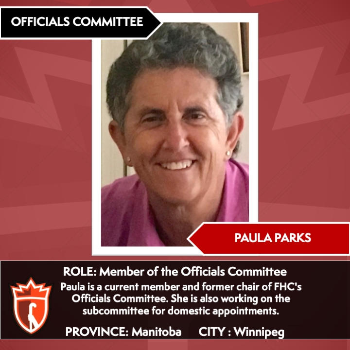 Officials' Committee Members_Paula Parks