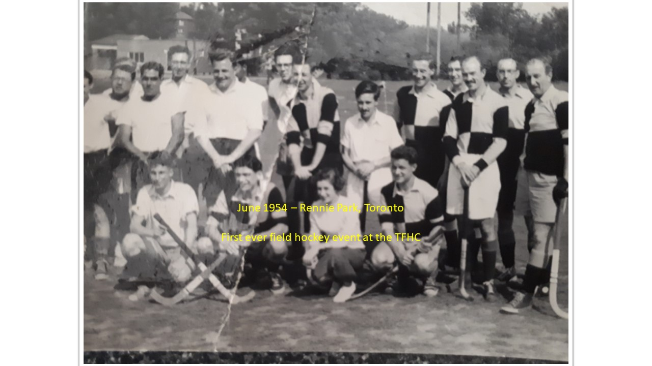 TFHC First Game June 1954.a