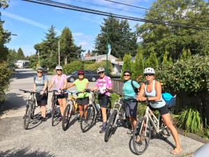 Team Cycle trip